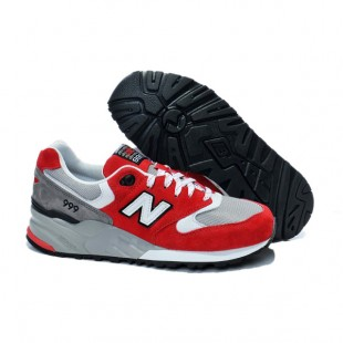 Кроссовки New Balance 999 Red / Grey 320