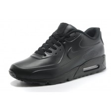 Nike Air Max 90 All Black Leather 135