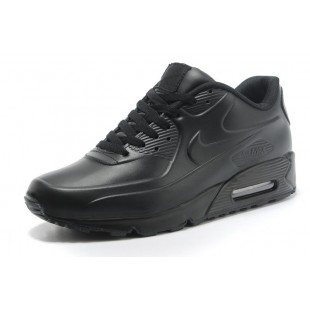 Кроссовки Nike Air Max 90 All Black Leather 135