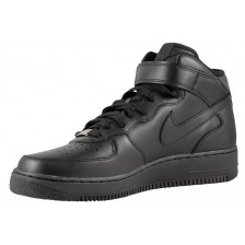 Nike Air Forse Black Mens / WMNS (высокие) 144