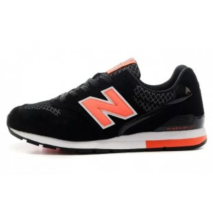 New Balance 996 (Black-Orange)