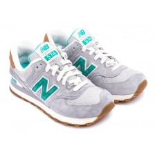 New Balance 574 (Grey-Green) 338