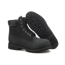 Timberland Black Woman с мехом 619