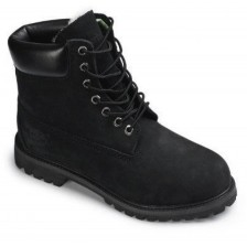 Timberland Black Woman с мехом 623-1