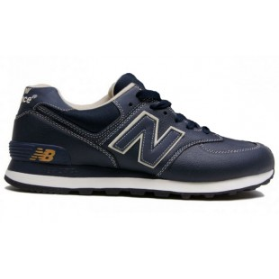 New Balance 574 WMNS (Blue Leather) 363