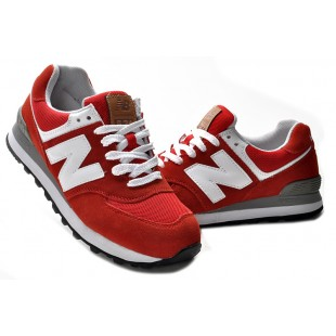 New Balance 574 WMNS (Red-White) 367