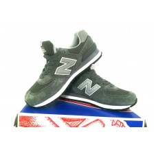 New Balance 574 (All Grey) 376
