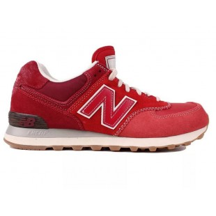 New Balance 574 Mens (Red) 389