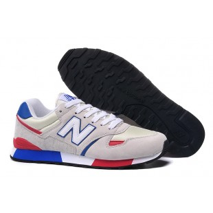 New Balance 446 WMNS / Mens (Grey / Red / Blue) 387