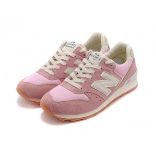 Кроссовки New Balance 996 Womans (Pink / Gold) 379