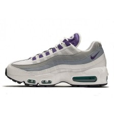Nike Air Max 95 Womens (White Grey Purple) 199