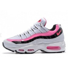 Nike Air Max 95 Womens (White/Pink/Black) 174