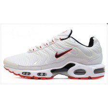 Nike Air Max Plus TN Mens (White Red) 163