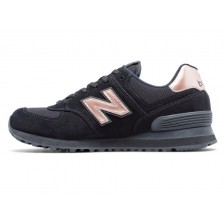 New Balance 574 (Black / Gold) 001