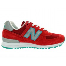 New Balance 574 (Red / Blue) 007