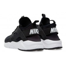 Nike Air Huarache Run Ultra Womans/Mens (Black-White) 239