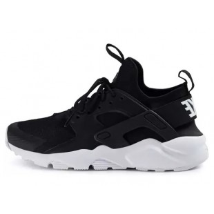 Кроссовки Nike Air Huarache Run Ultra Womans/Mens (Black-White) 239