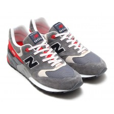New Balance 999 (Dark Grey / Red) 035