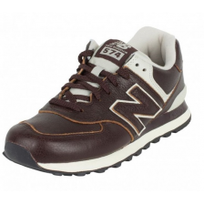 New Balance 574 (Brown Leather) 035