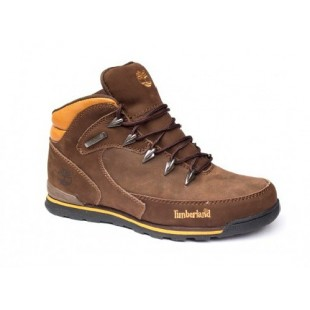 Мужские ботинки Timberland Mens Euro Roсk Hiker Brown