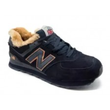 New Balance 574 Winter (Dark Bluе)