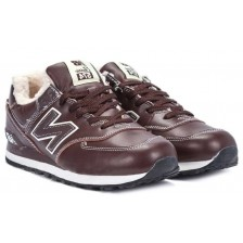New Balance 574 Winter (Brown Leather)