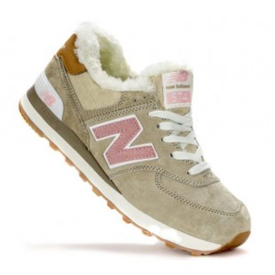 Кроссовки New Balance 574 Winter (Beige)