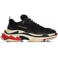 Balenciaga Triple S Black/White/Red