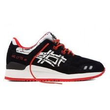 Asics Gel Lyte III Papercut Mens (Black/Red/White) 2013