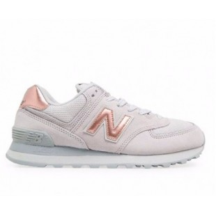 Кроссовки New Balance 574 Light grey Gold