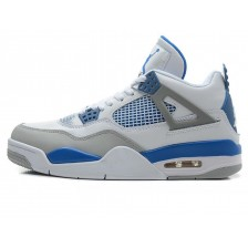 Nike Air Jordan 4 Retro White Blue