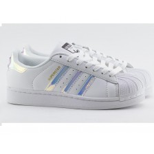 Adidas Superstar White Chrome