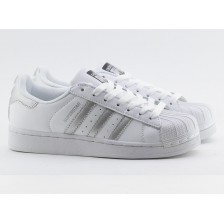 Adidas Superstar White with Silver