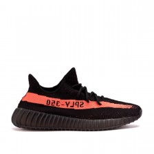 Adidas Yeezy Boost 350 Black and Red