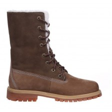 Timberland Teddy Fleece Brown 712 (32-35 размер)