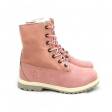 Timberland Teddy Fleece Pink 700 (34-35 размер)