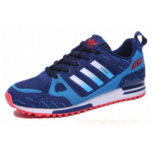 Adidas ZX 750 Mens Flyknit (blue-red) 207