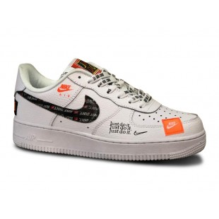 """Nike Air Force 1 """"Just Do It"""" (White)"""