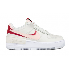 Nike Air Force 1 Low Shadow Phantom (розовые с белым)