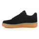 Nike Air Force 1 Low Suede Pack Black черные