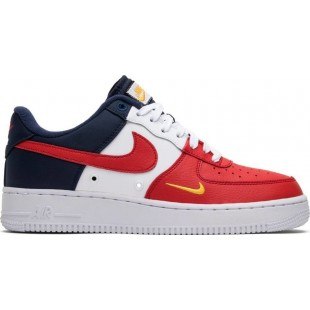 Nike Air Force 1 Obsidian/White-Uuniversity Red