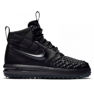 Nike Air Force 1 Duckboot 17 (черные)
