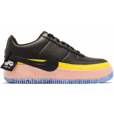 Nike Air Force 1 Jester XX Black Sonic Yellow (черные)