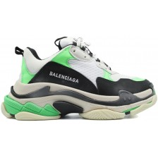 Balenciaga Triple S Neon Green White