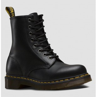 DR. MARTENS 1460 SMOOTH BLACK с мехом