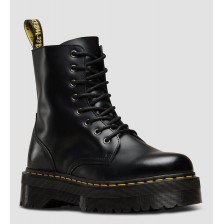 DR. MARTENS JADON SMOOTH BLACK с мехом