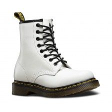 DR. MARTENS WHITE SMOOTH с мехом