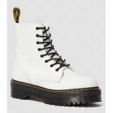 DR. MARTENS WHITE POLISHED SMOOTH без меха