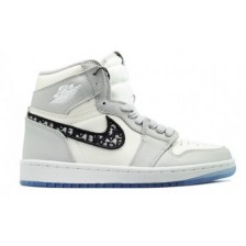 NIKE AIR JORDAN RETRO 1 HIGH DIOR (СВЕТЛЫЕ)