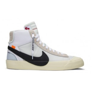 NIKE AIR JORDAN RETRO 1 HIGH OG X OFF-WHITE BLAZER (БЕЛЫЕ)